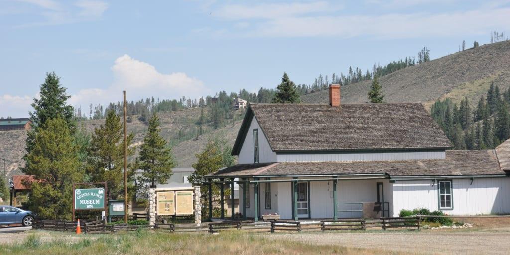The Cozens Ranch House in Fraser, Colorado