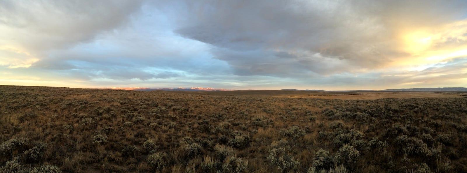 Arapaho National Wildlife Refuge Sunrise Jackson County Colorado
