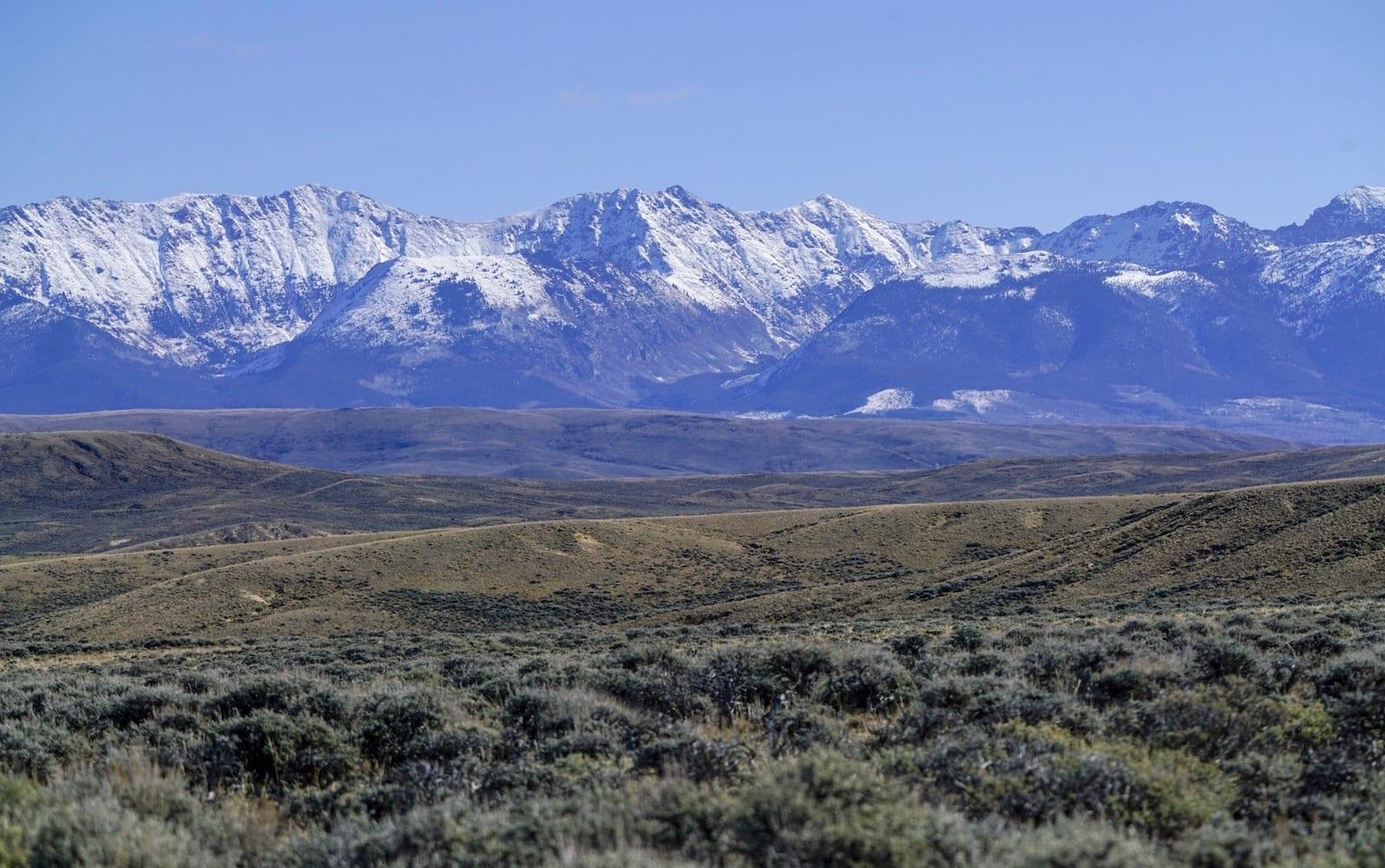 Arapaho National Wildlife Refuge Walden CO Mountain Vista