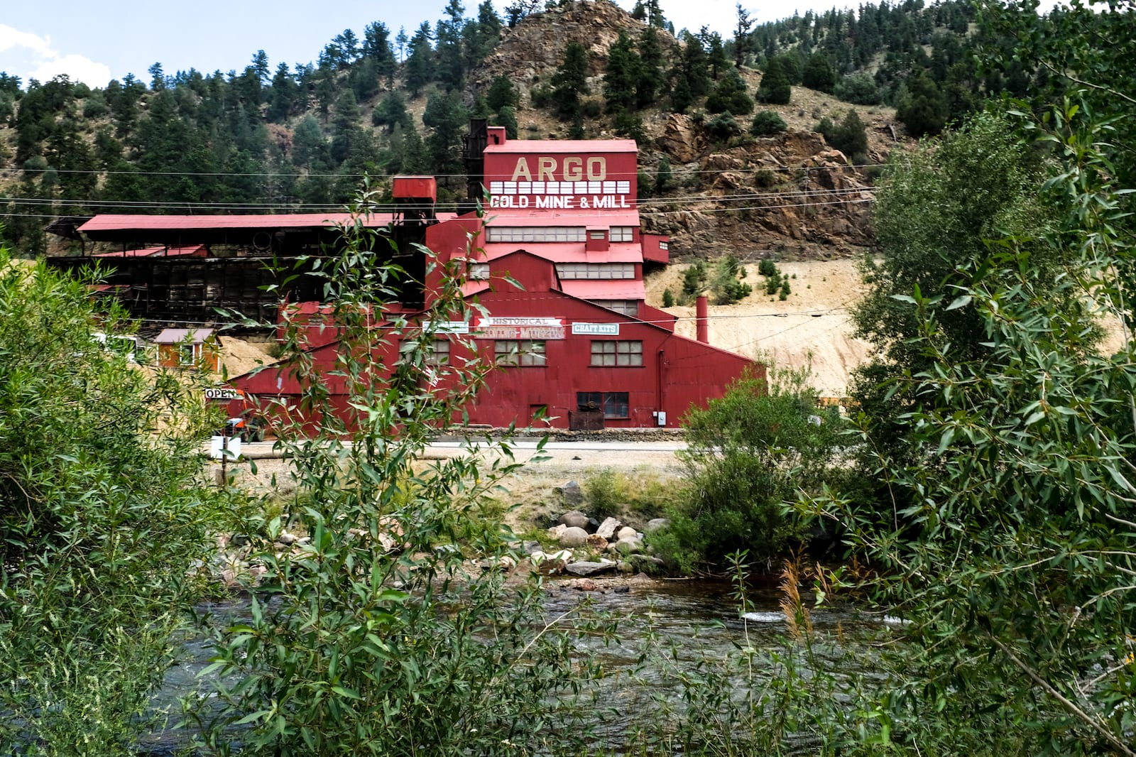 Argo Gold Mine and Mill Idaho Springs CO