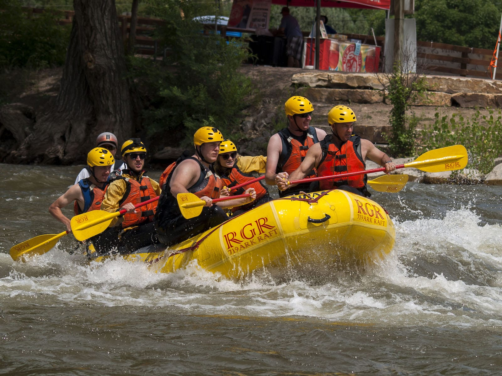 Arkansas River Rafting Canon City CO