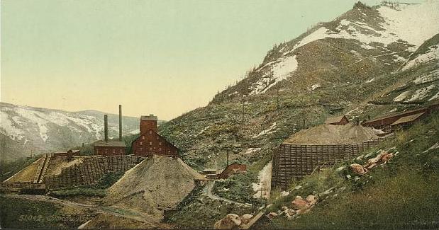 Aspen CO Silver Mines Circa 1898-1905