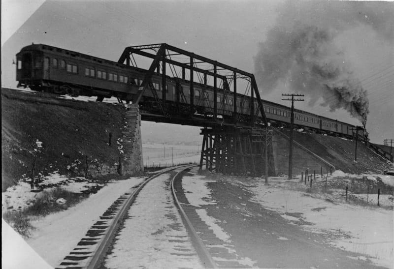 Atchison, Topeka and Santa Fe Railroad Overpass Sedalia CO