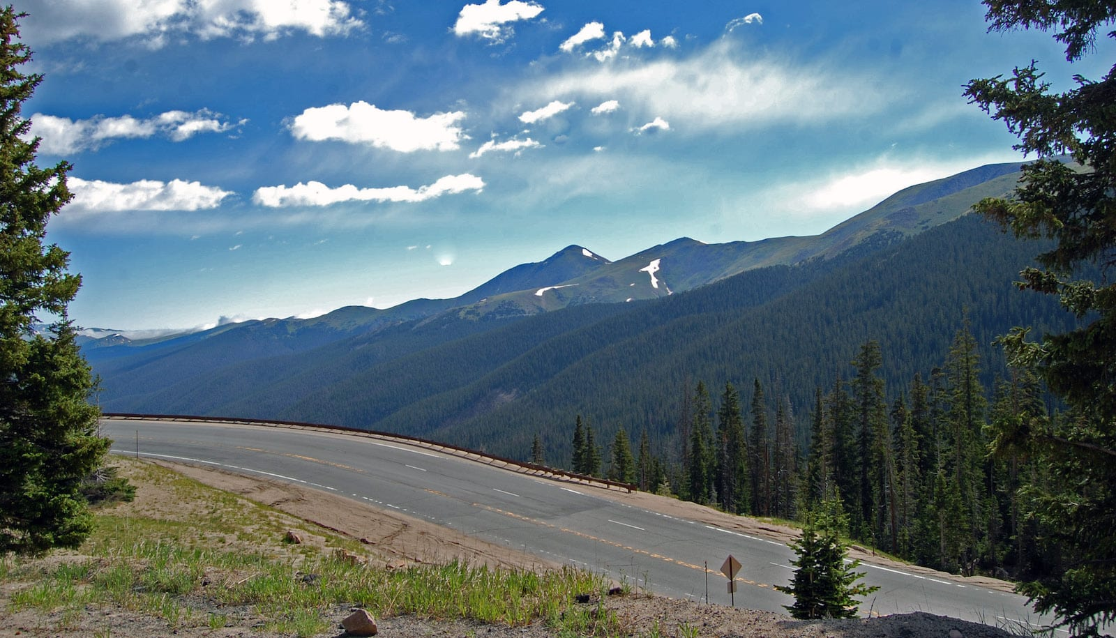 Highway 40 Berthoud Pass CO