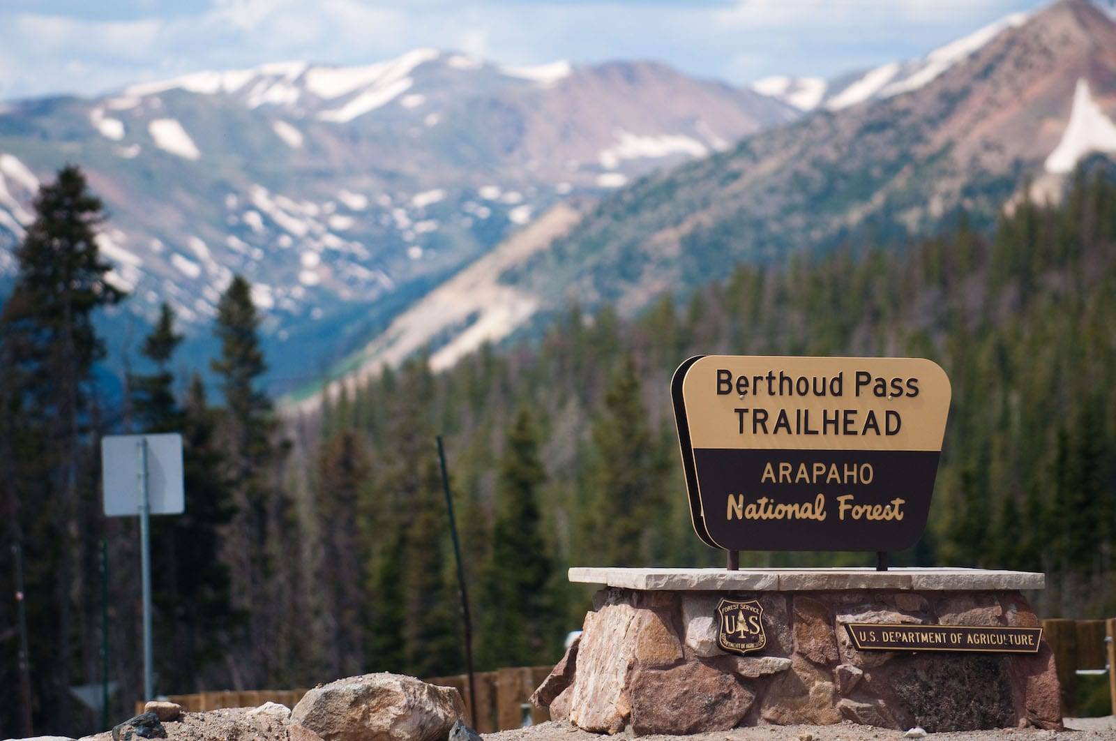 Berthoud Pass Trailhead Colorado