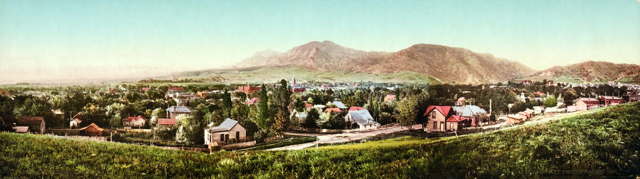 Boulder Colorado Circa 1900