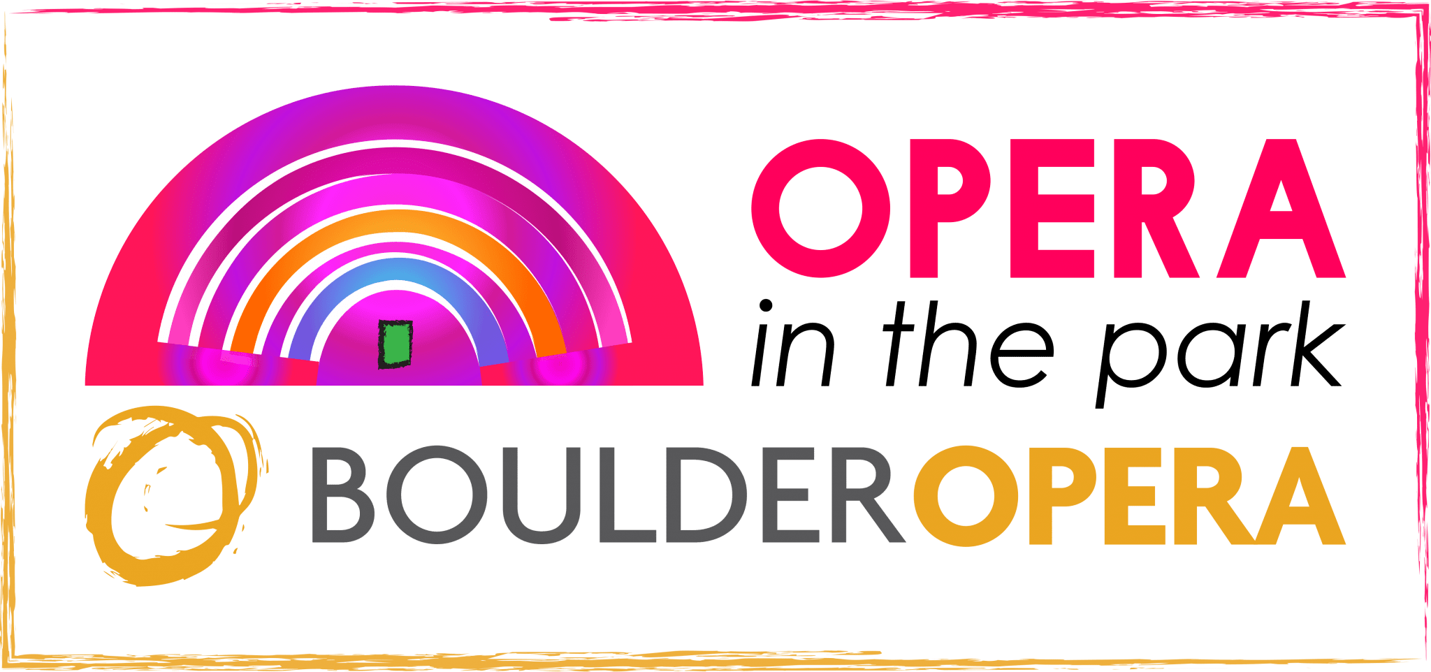 Opera in the Park Boulder Opera Logo