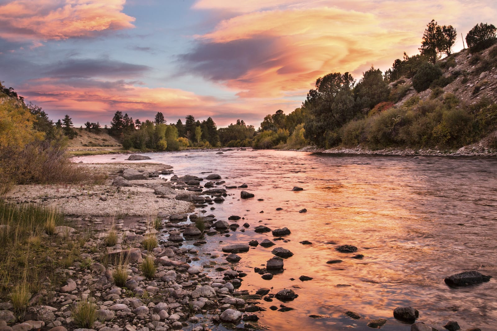 Arkansas River Browns Canyon National Monument Chaffee County Colorado