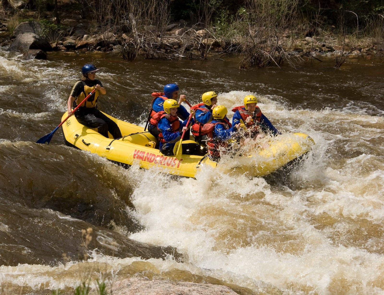 Cache la Poudre River Rafting Colorado