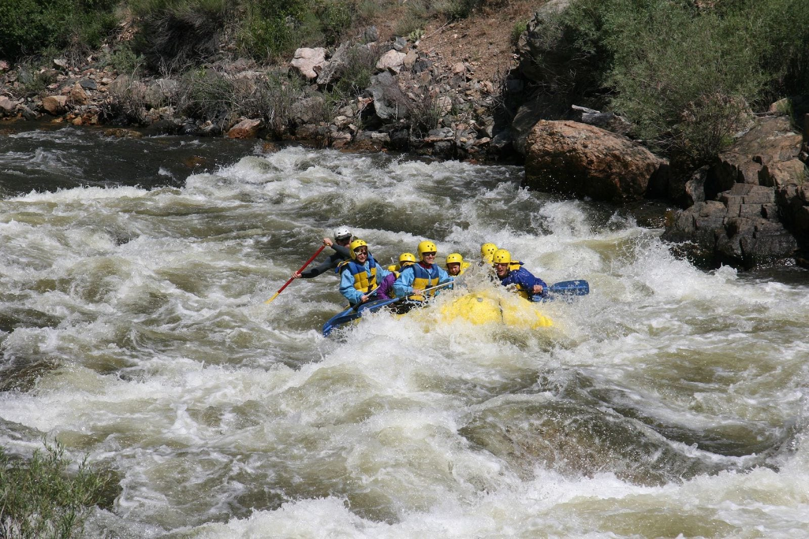 Cache la Poudre River Whitewater Rafting Colorado