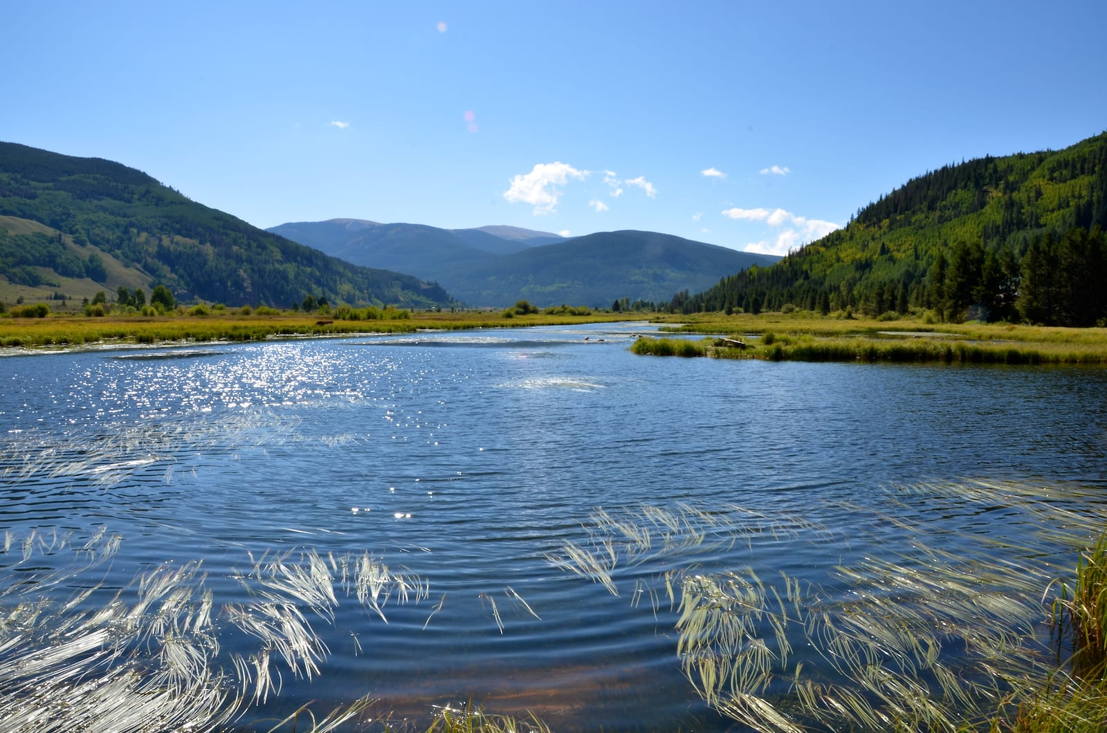 Camp Hale Colorado Lake