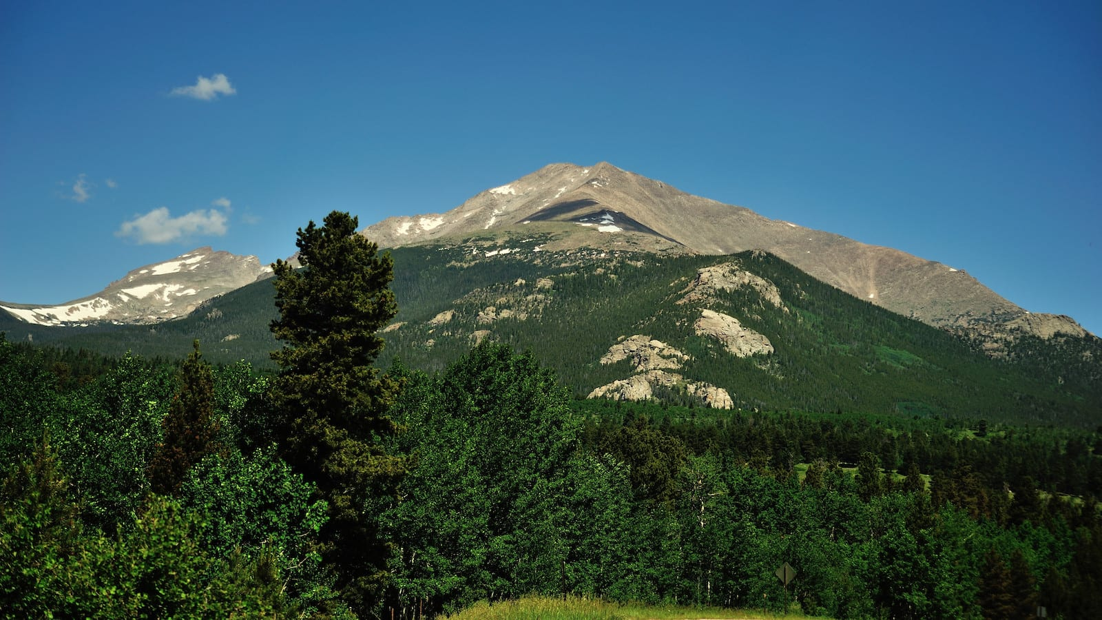 Allenspark CO Mountain View