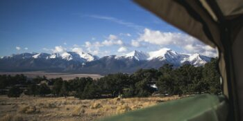 Camping BLM Buena Vista CO Collegiate Peaks
