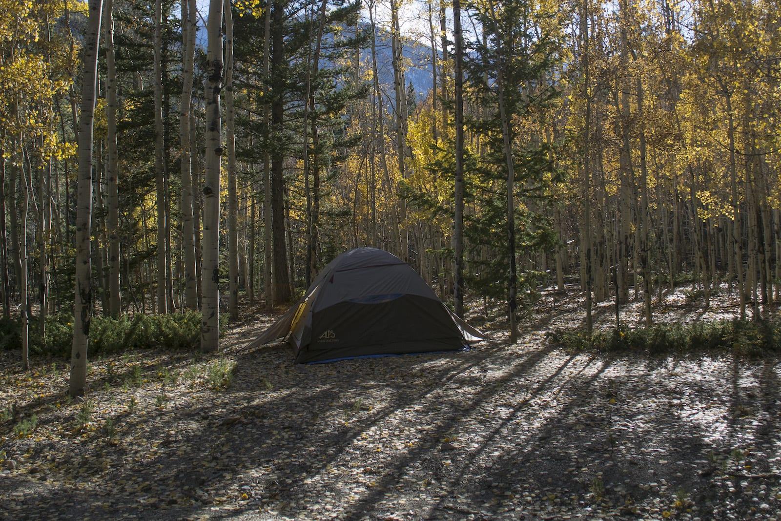 Tent Camping near Collegiate Peaks Buena Vista CO