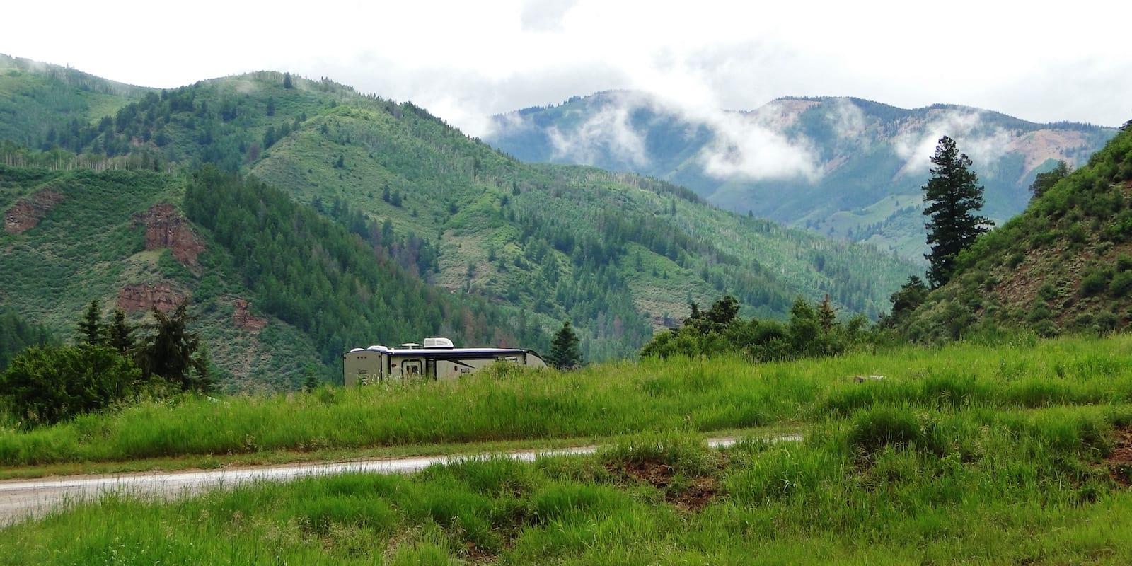 RV Camping Sylvan Lake State Park Eagle CO