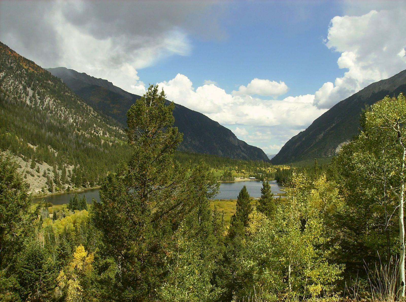 Chalk Creek Canyon Lake Chaffee County Colorado