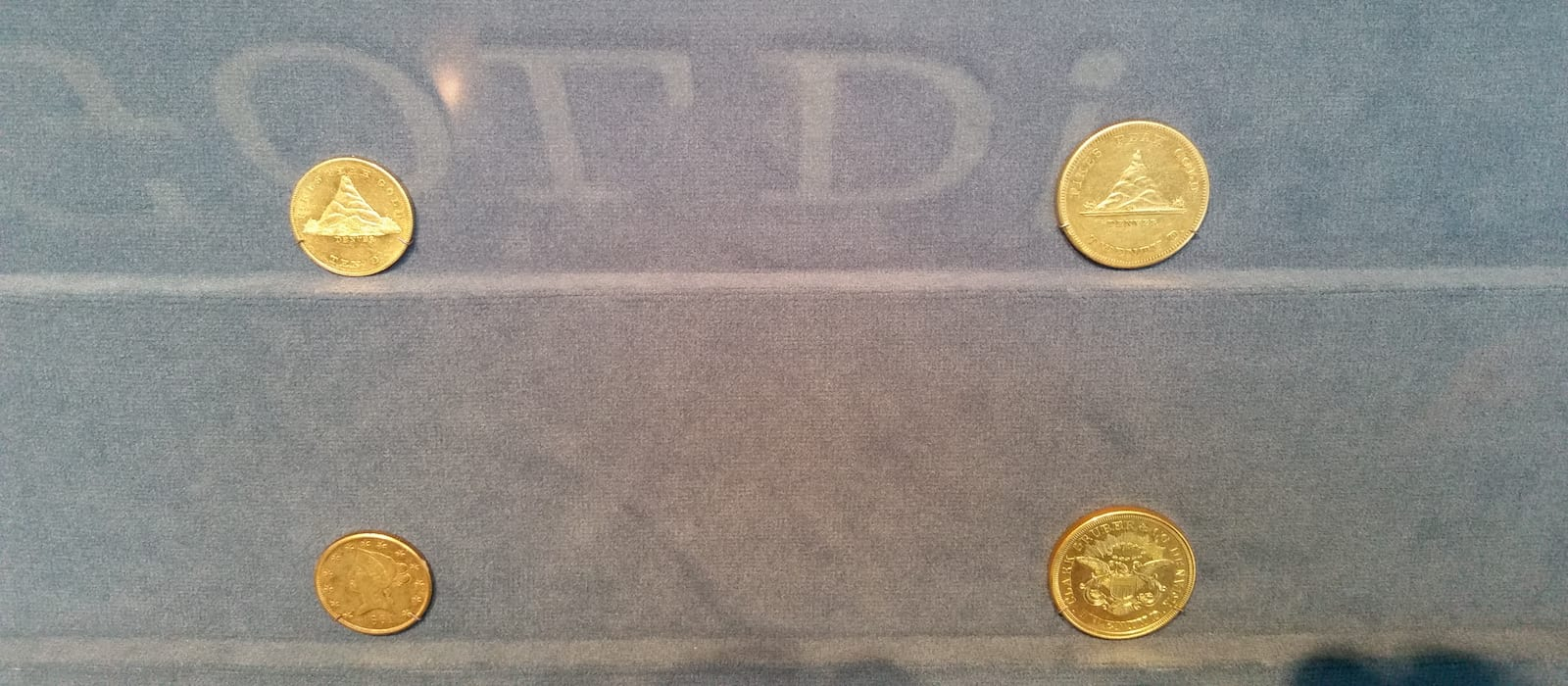 Clark, Gruber and Company Gold Coins on Display at History Colorado Center