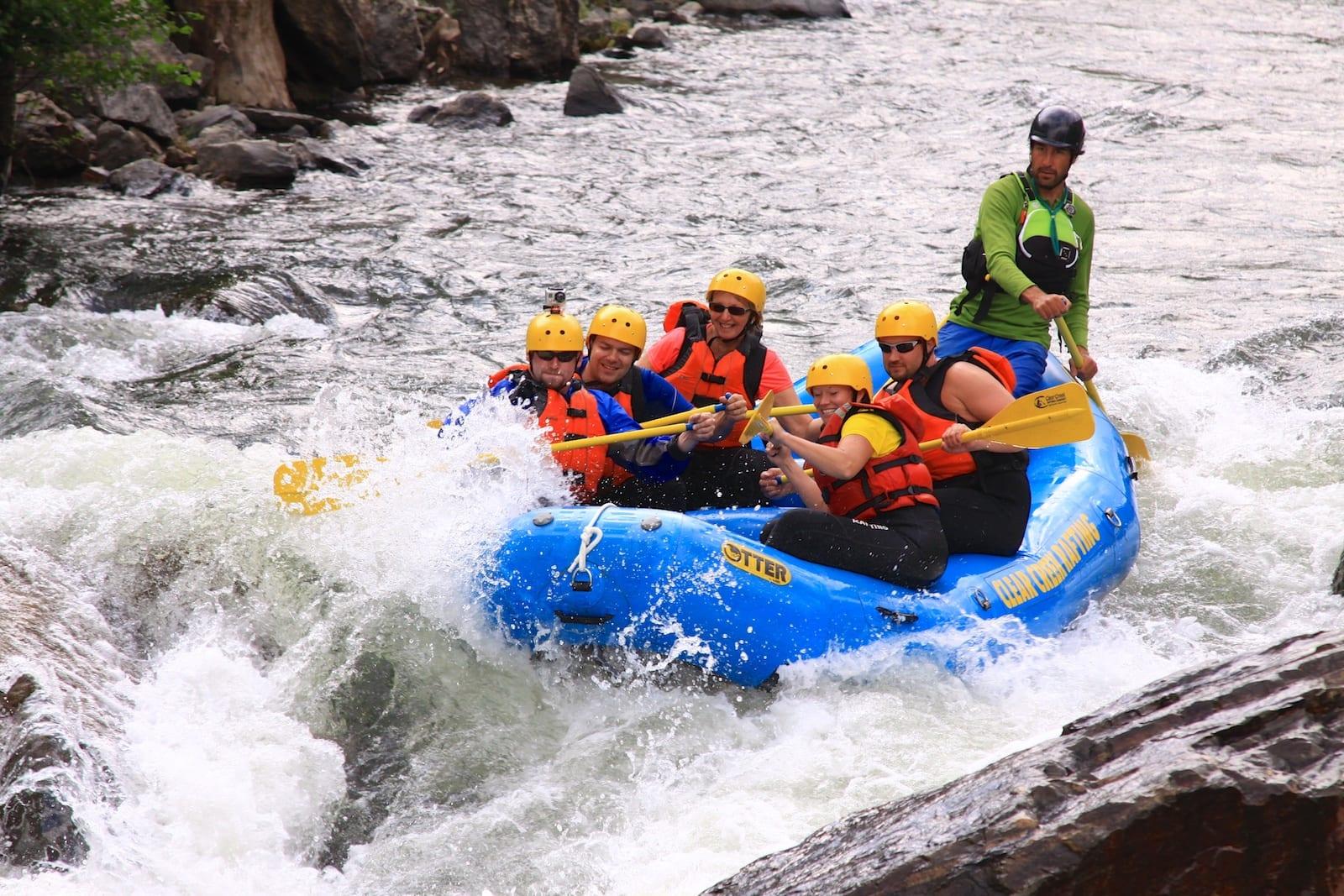 Clear Creek Whitewater Rafting Idaho Springs CO Rapids