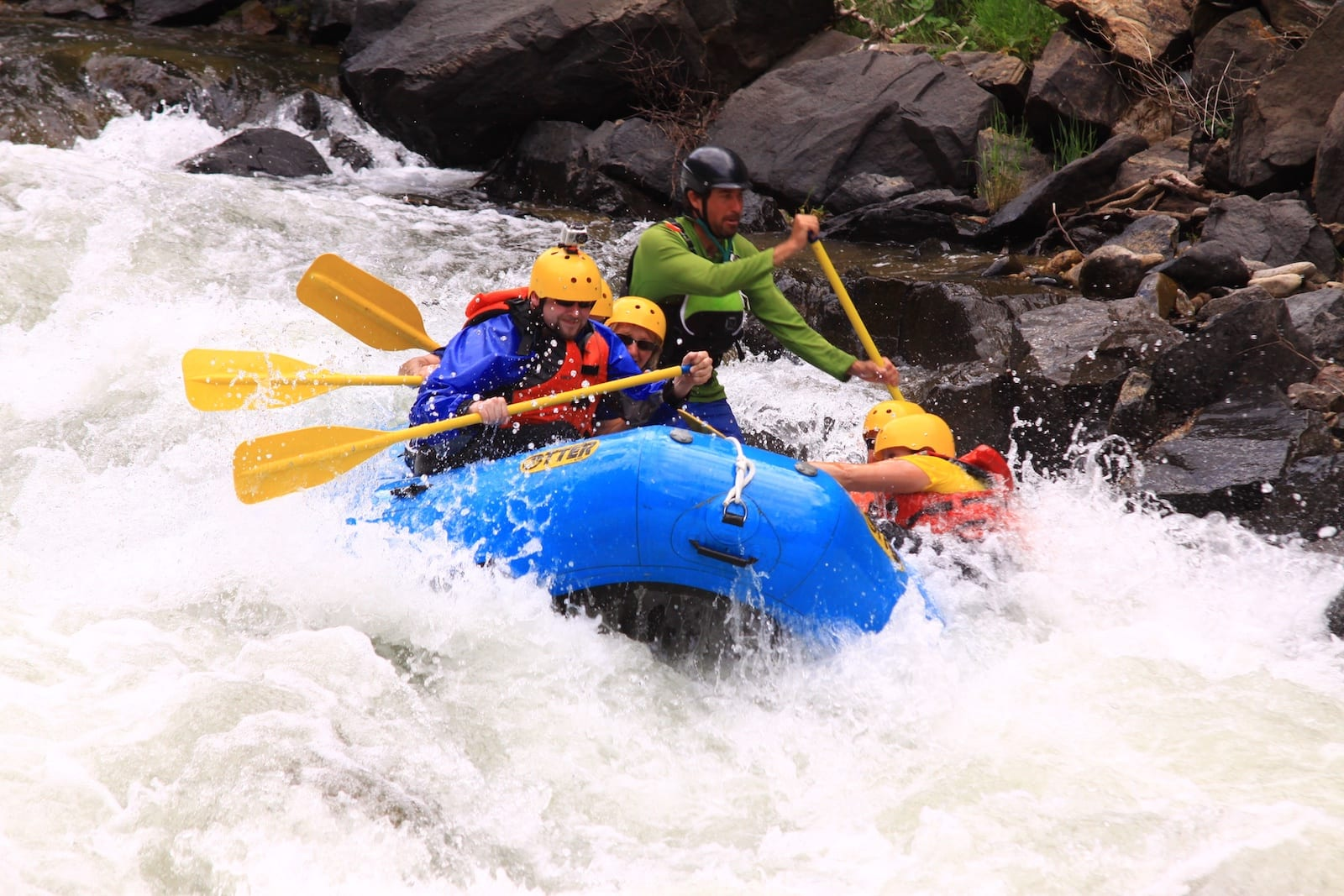 Clear Creek Whitewater Rafting Idaho Springs CO Rapids
