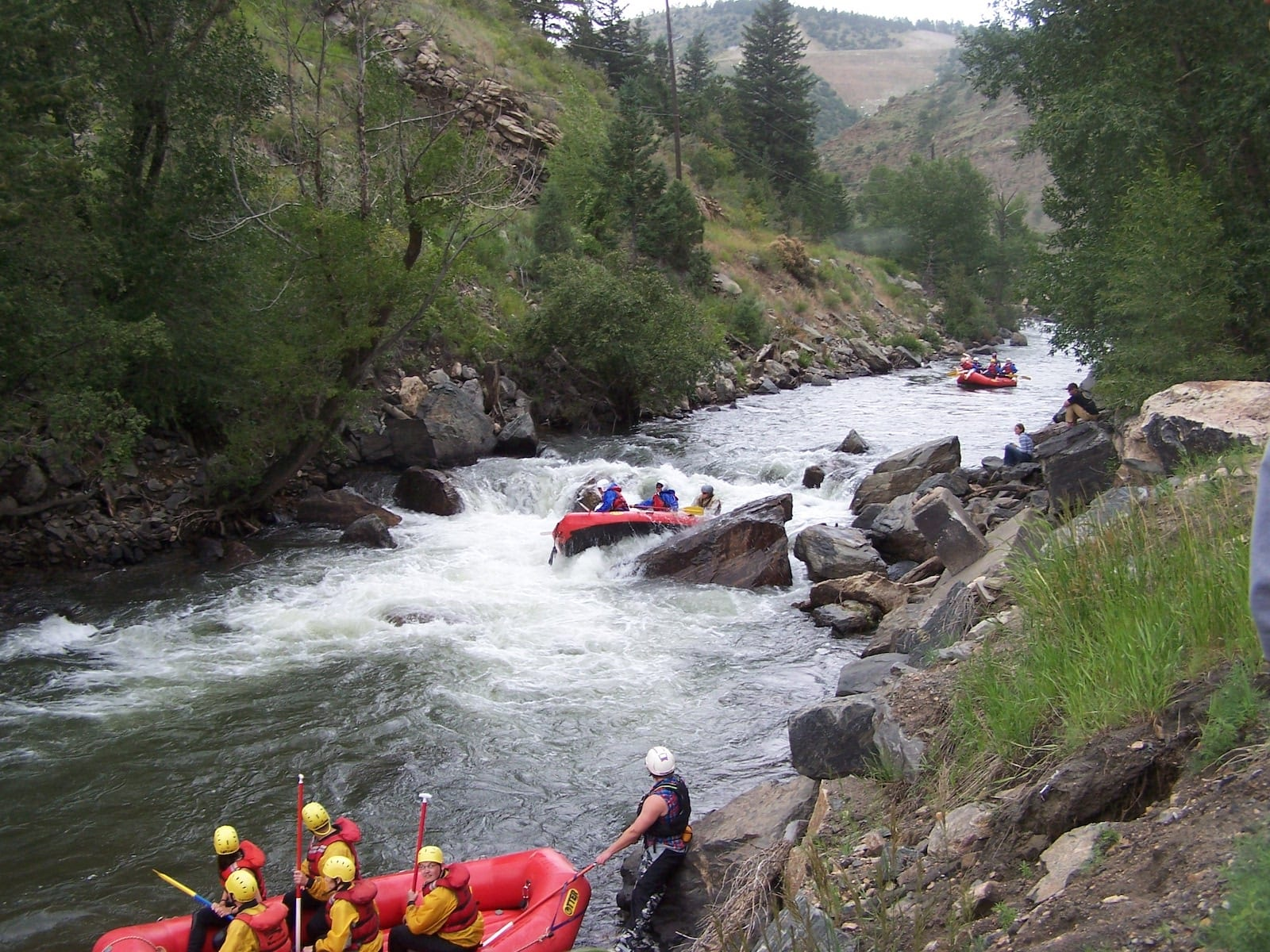 Whitewater Rafting Clear Creek Idaho Springs CO