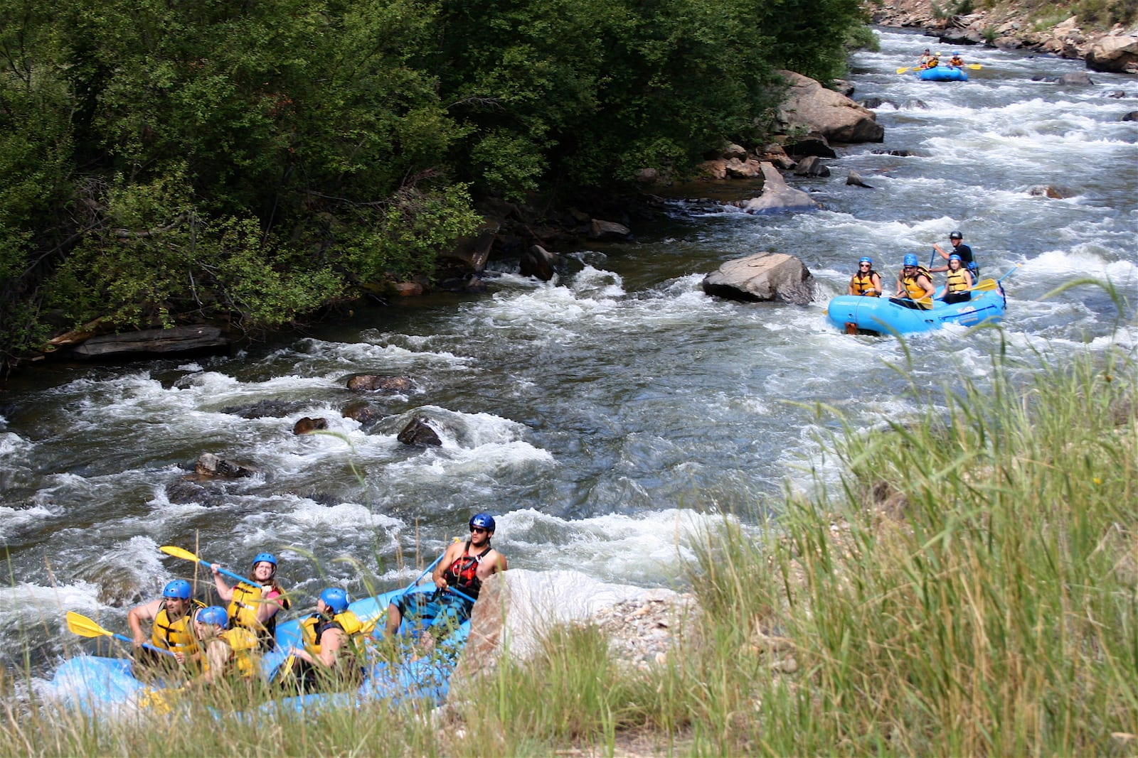 Clear Creek Whitewater Rafters Idaho Springs CO
