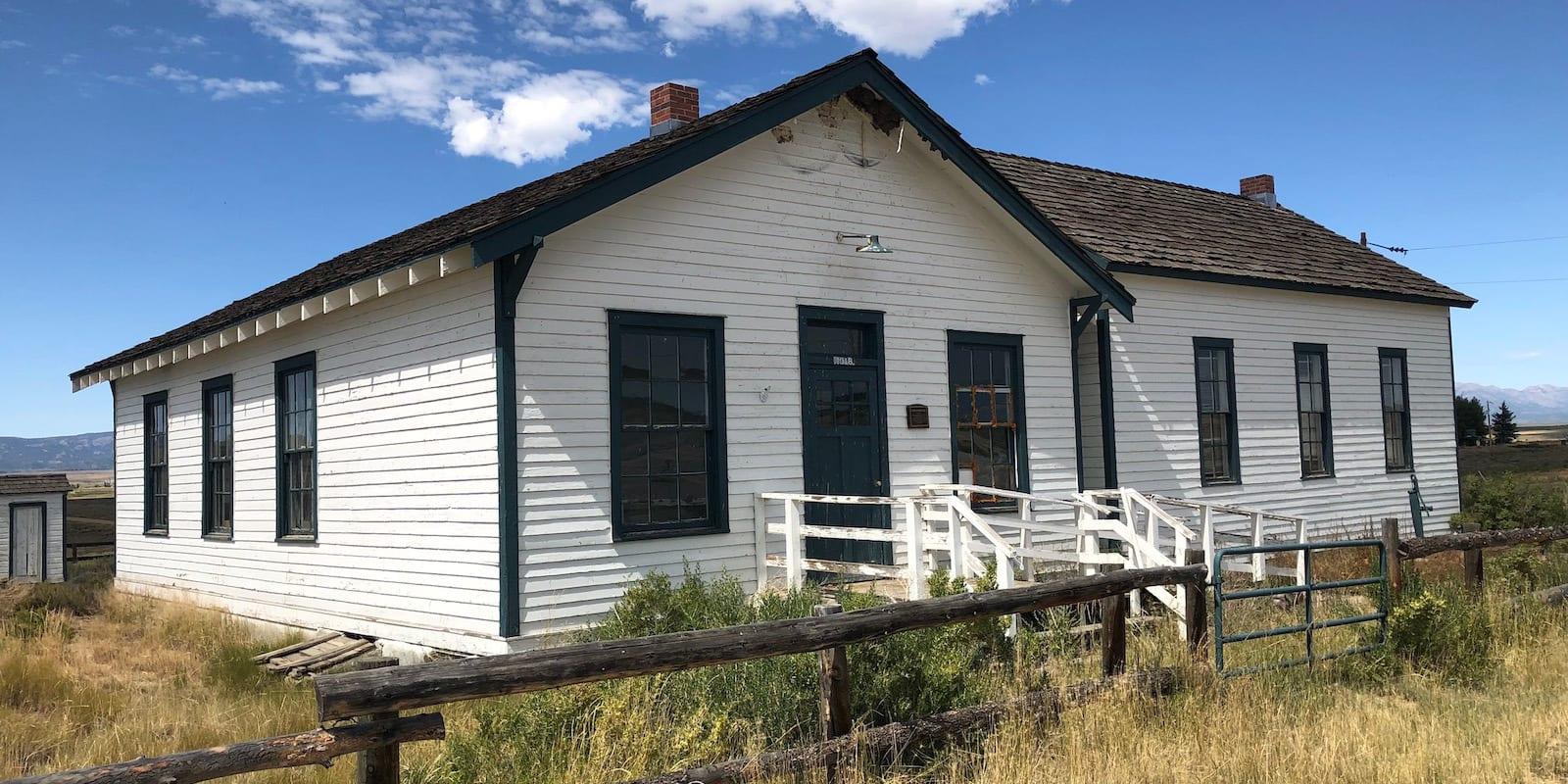 Coalmont CO School House