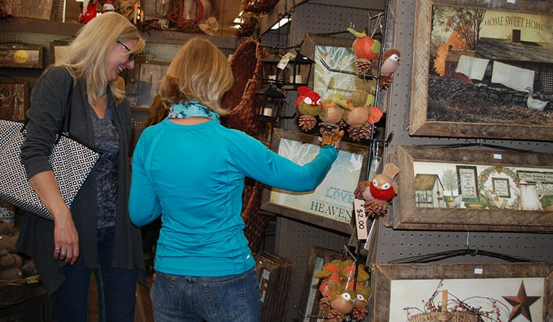 Colorado Country Christmas Gift Show Shopping