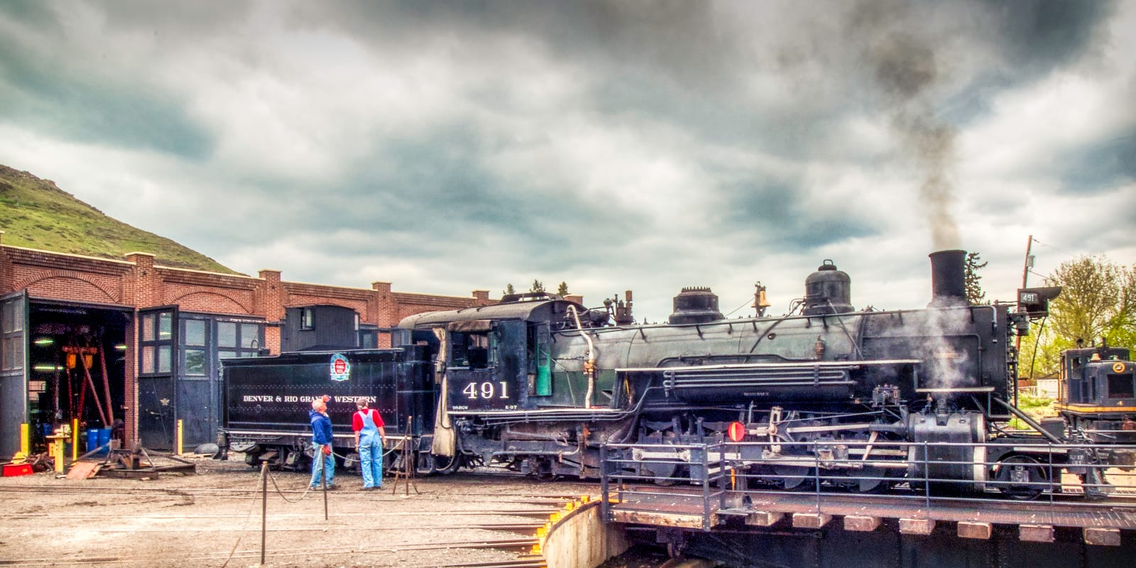Colorado Railroad History Denver & Rio Grande Western K-37
