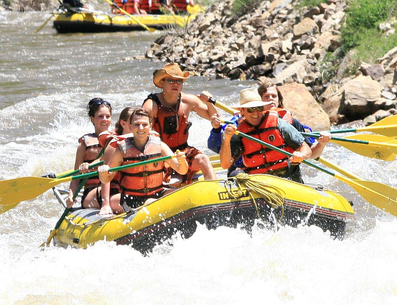 Colorado River Rafting Glenwood Canyon