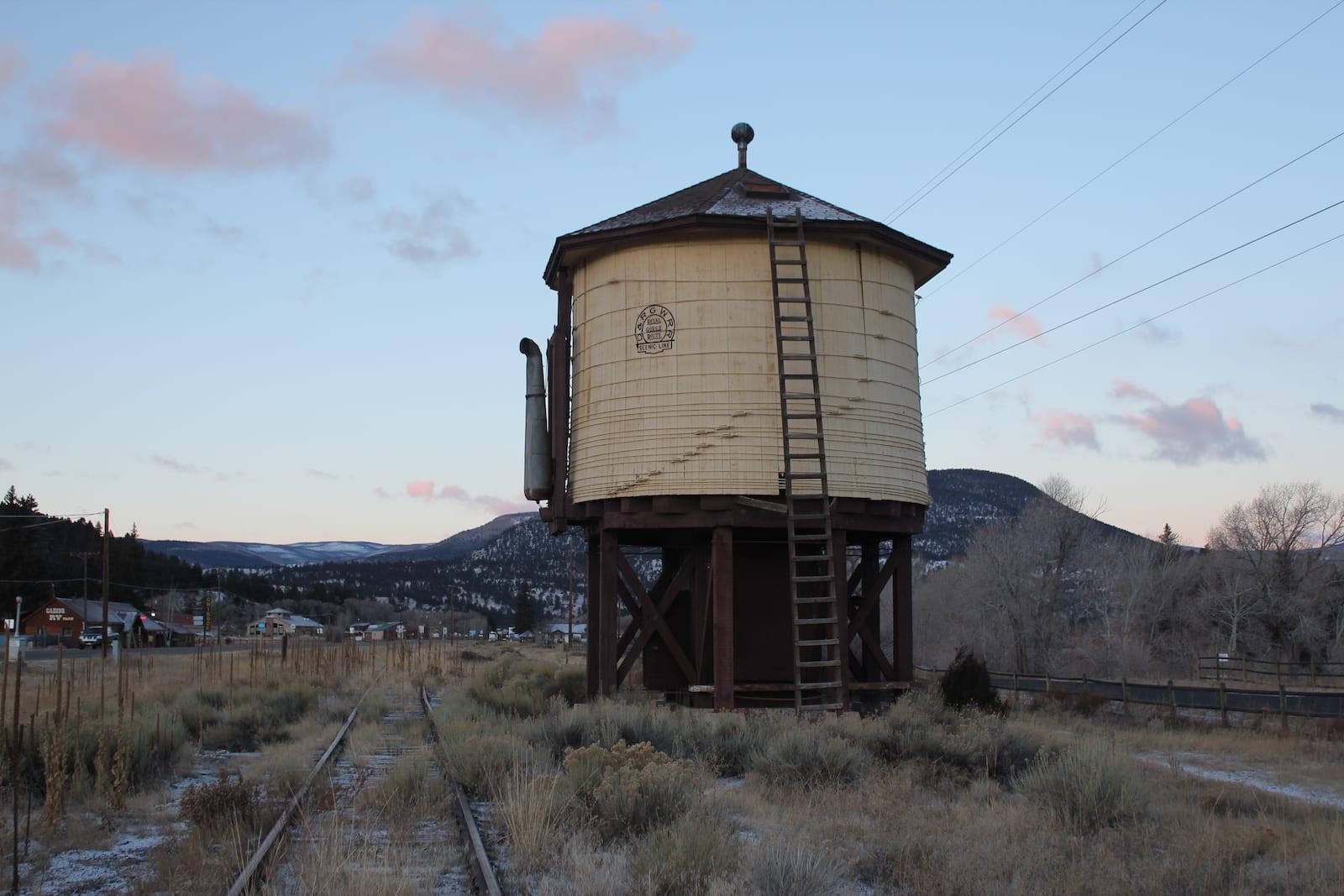 Denver & Rio Grande Railroad South Fork Water Tank