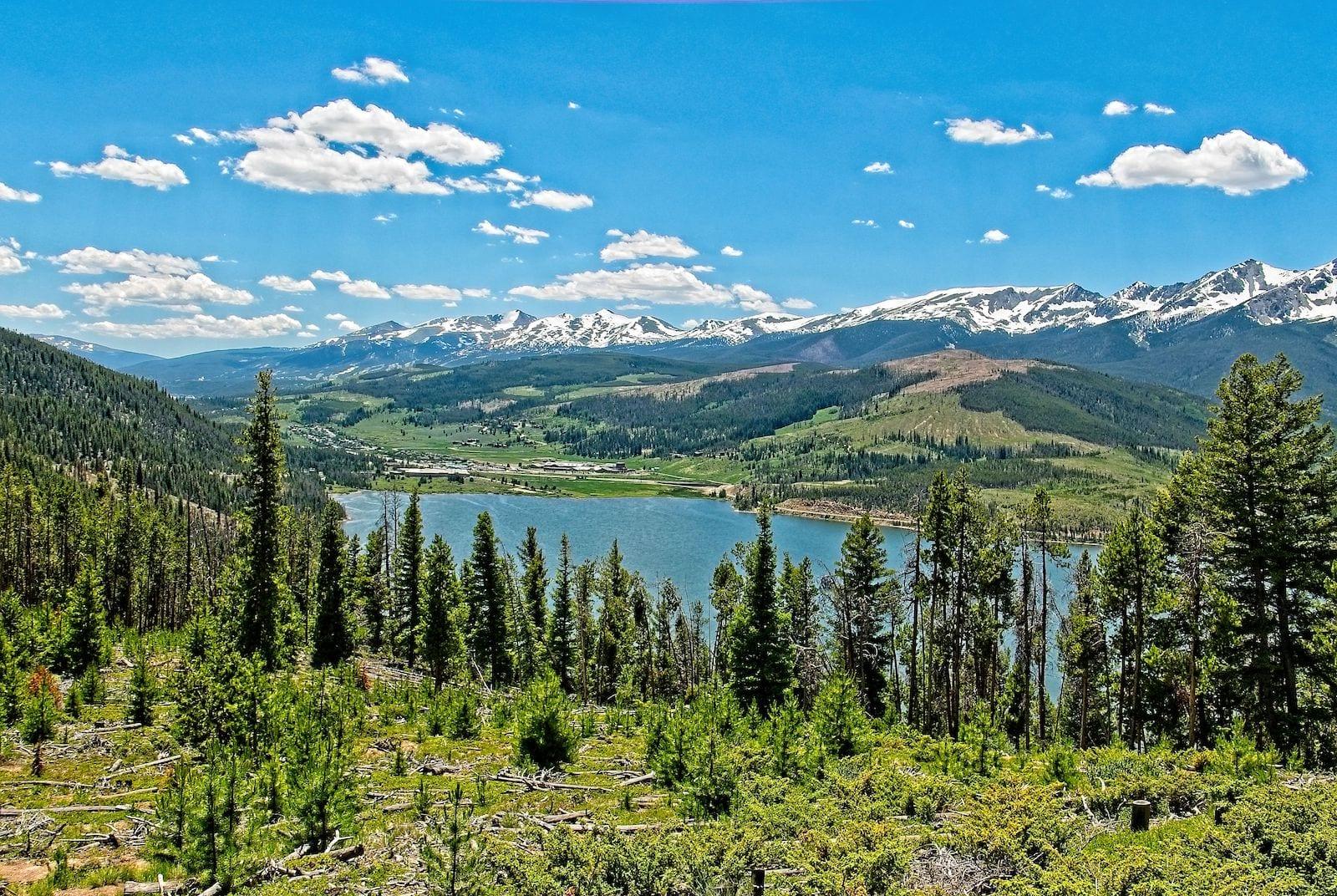 Dillion Reservoir Overlook Summit County Colorado