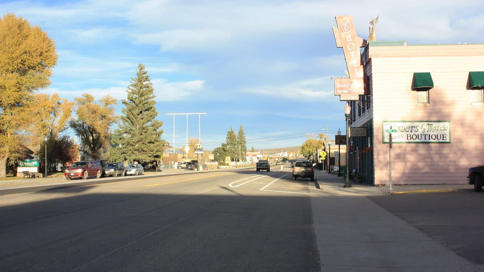 Downtown Kremmling CO Highway 40