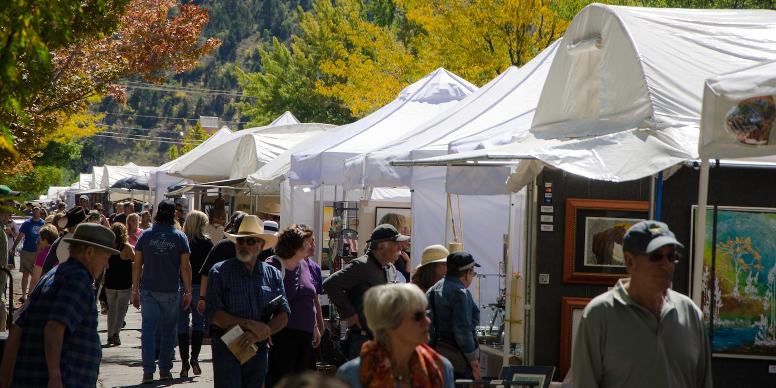 Durango Autumn Arts Festival Booths
