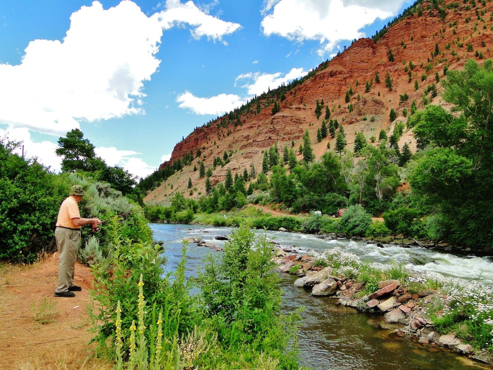 Edwards CO Eagle River Fisherman