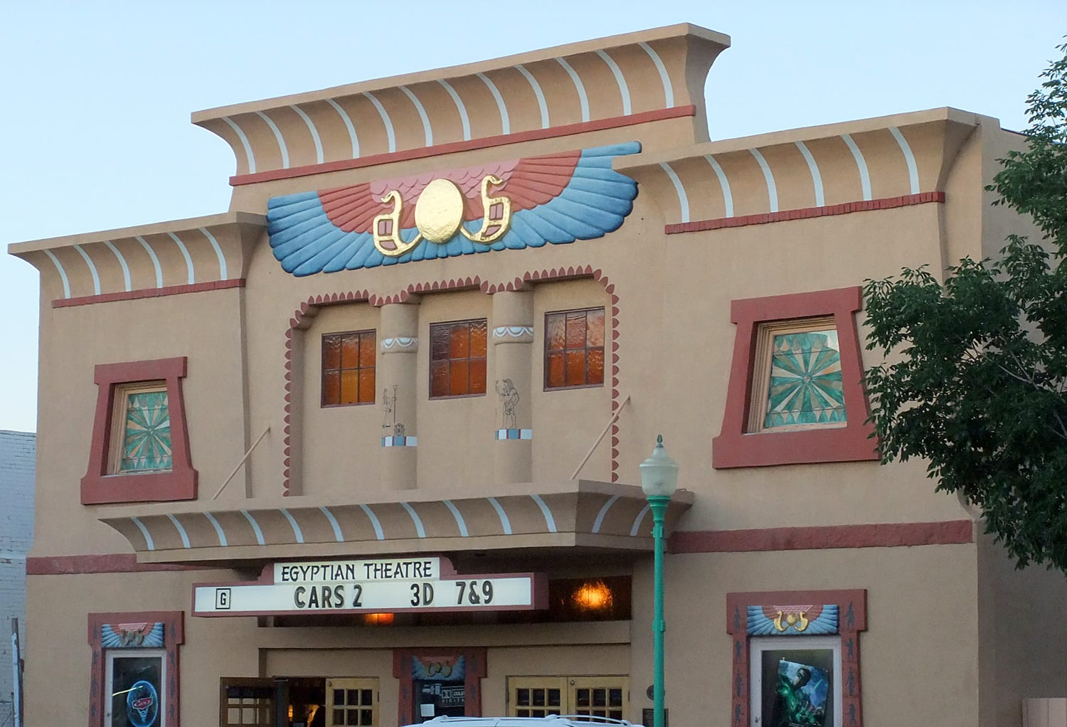 Egyptian Theatre Delta CO Exterior