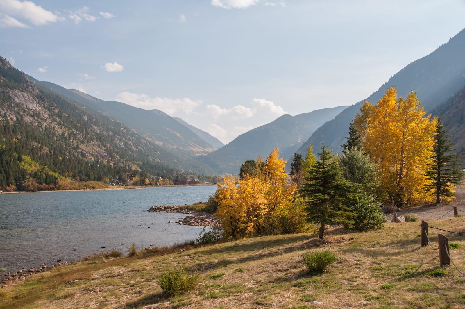 Georgetown Lake Clear Creek County CO