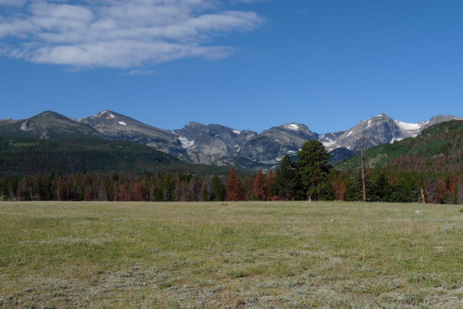 Glacier Basin Campground Rocky Mountain National Park CO