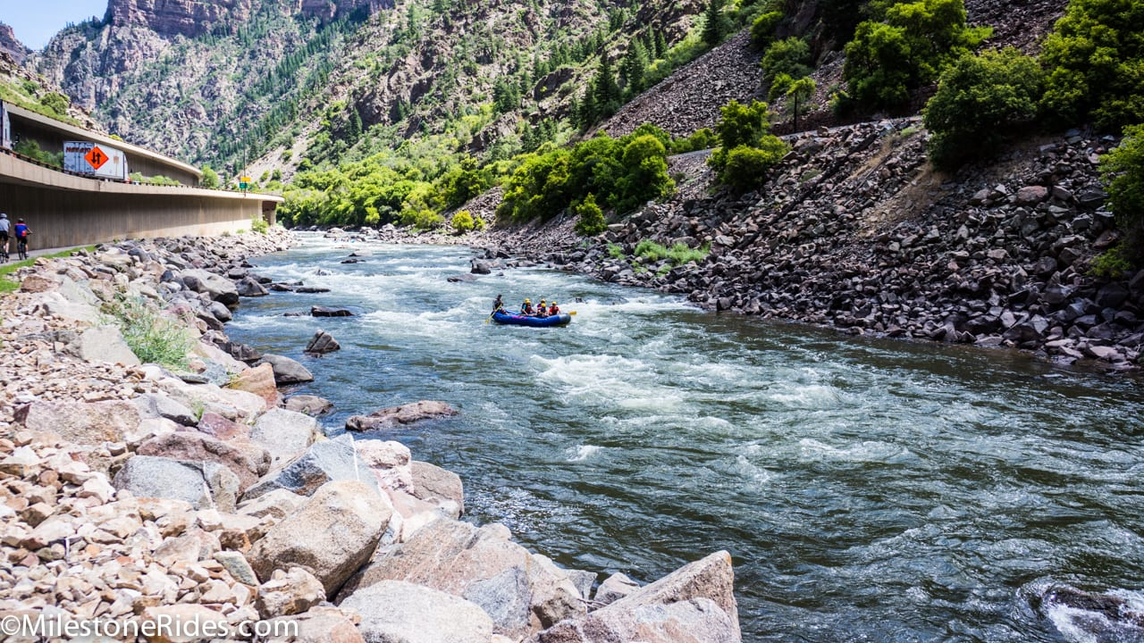 Glenwood Canyon Rafting Upper Colorado River