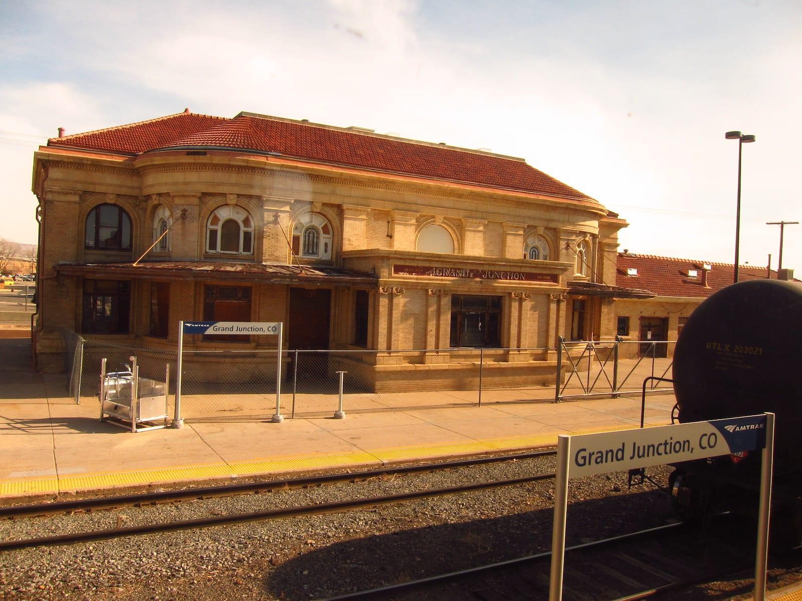 Grand Junction CO Amtrak Station