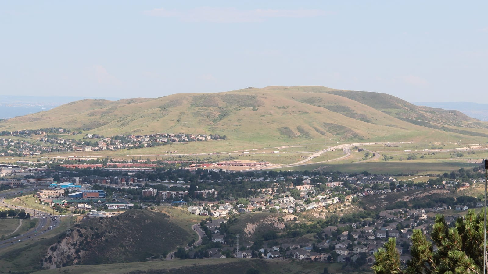 Green Mountain View from Mt. Zion Lakewood CO