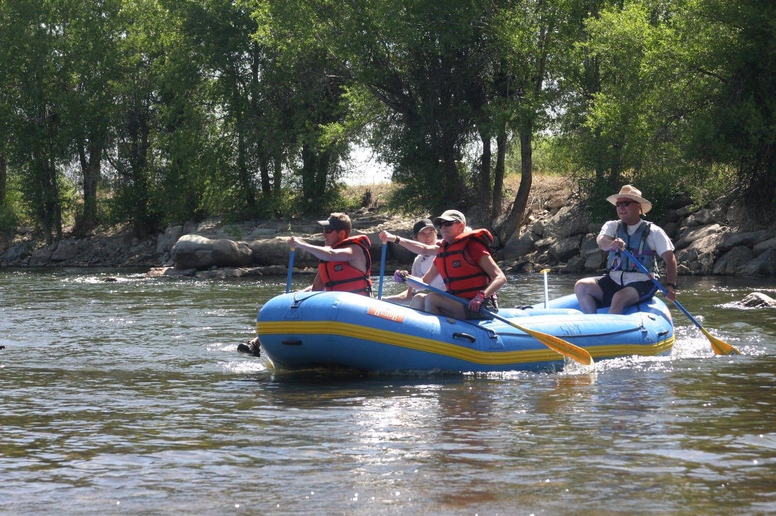 Gunnison River Rafting Gunnison CO