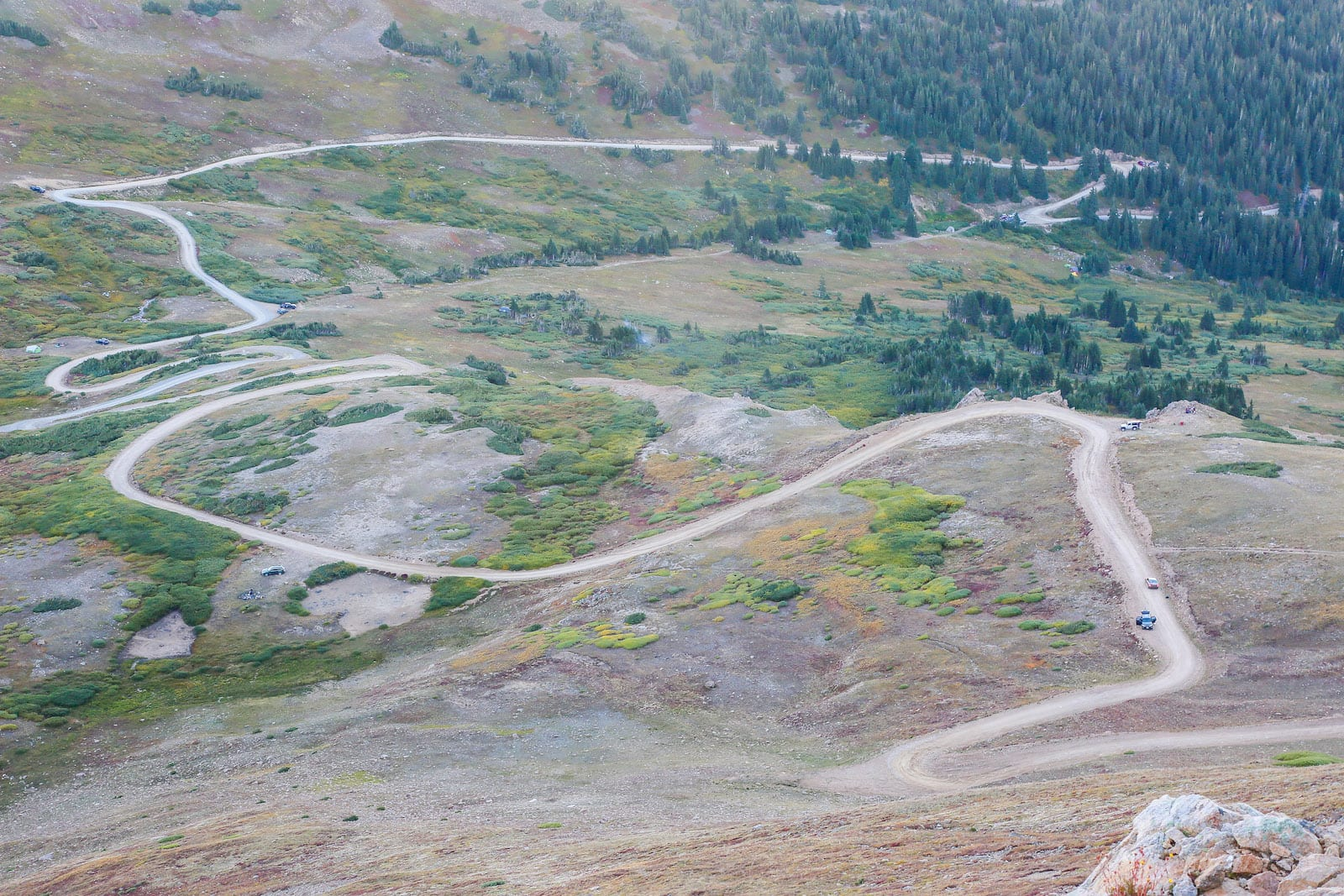 Jones Pass Road Empire CO Aerial View