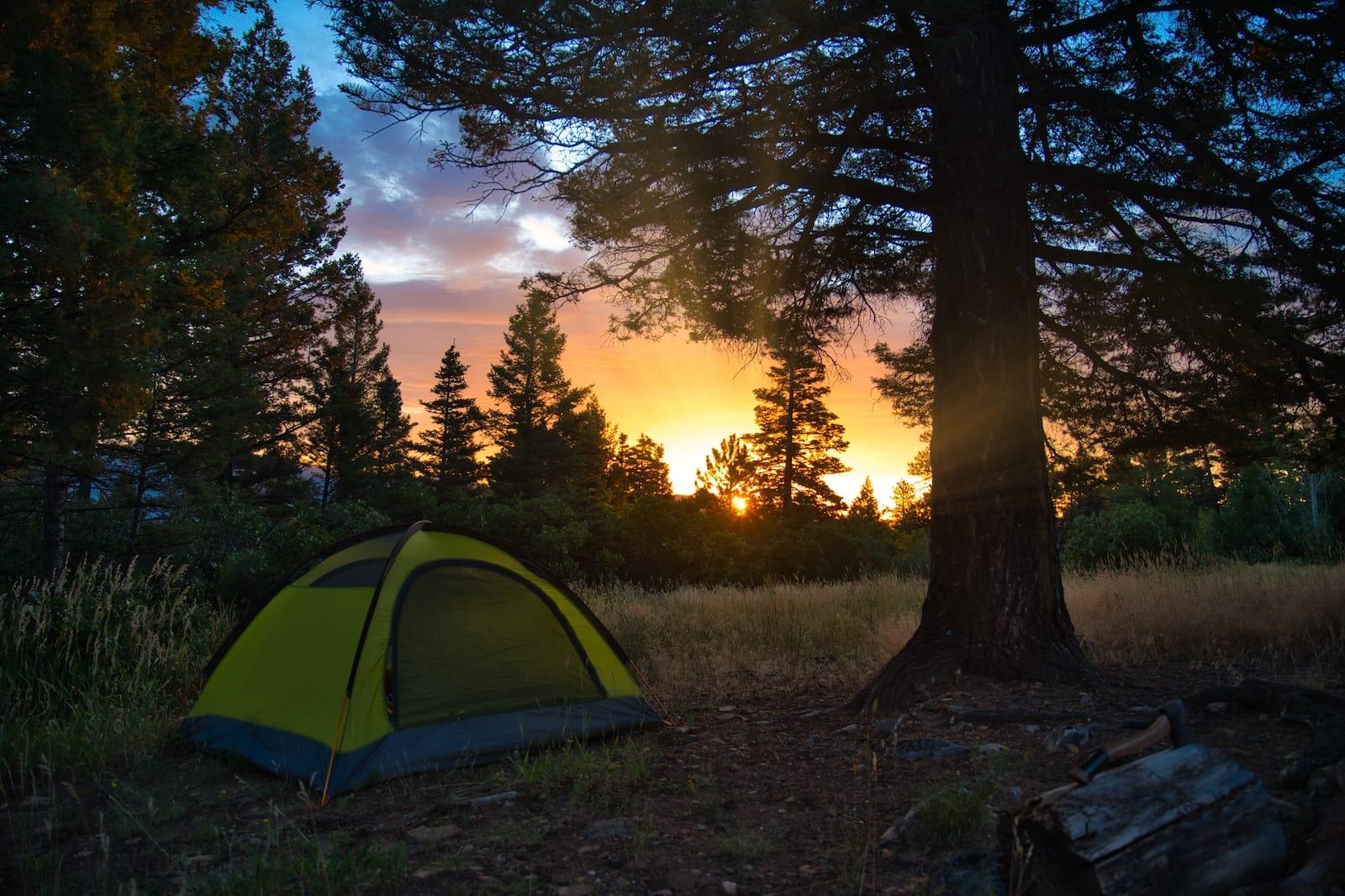 Kerr Gulch Tent Camping Sangre de Cristo Mountains