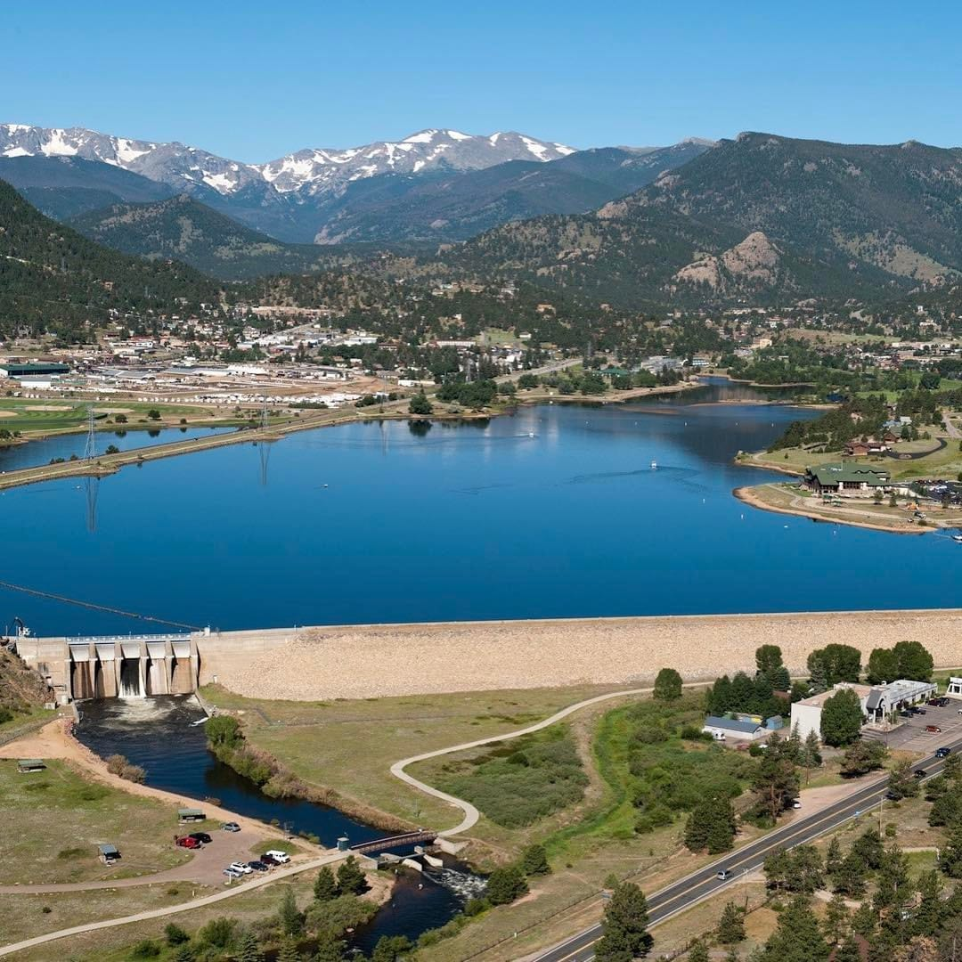 Lake Estes Olympus Dam Colorado