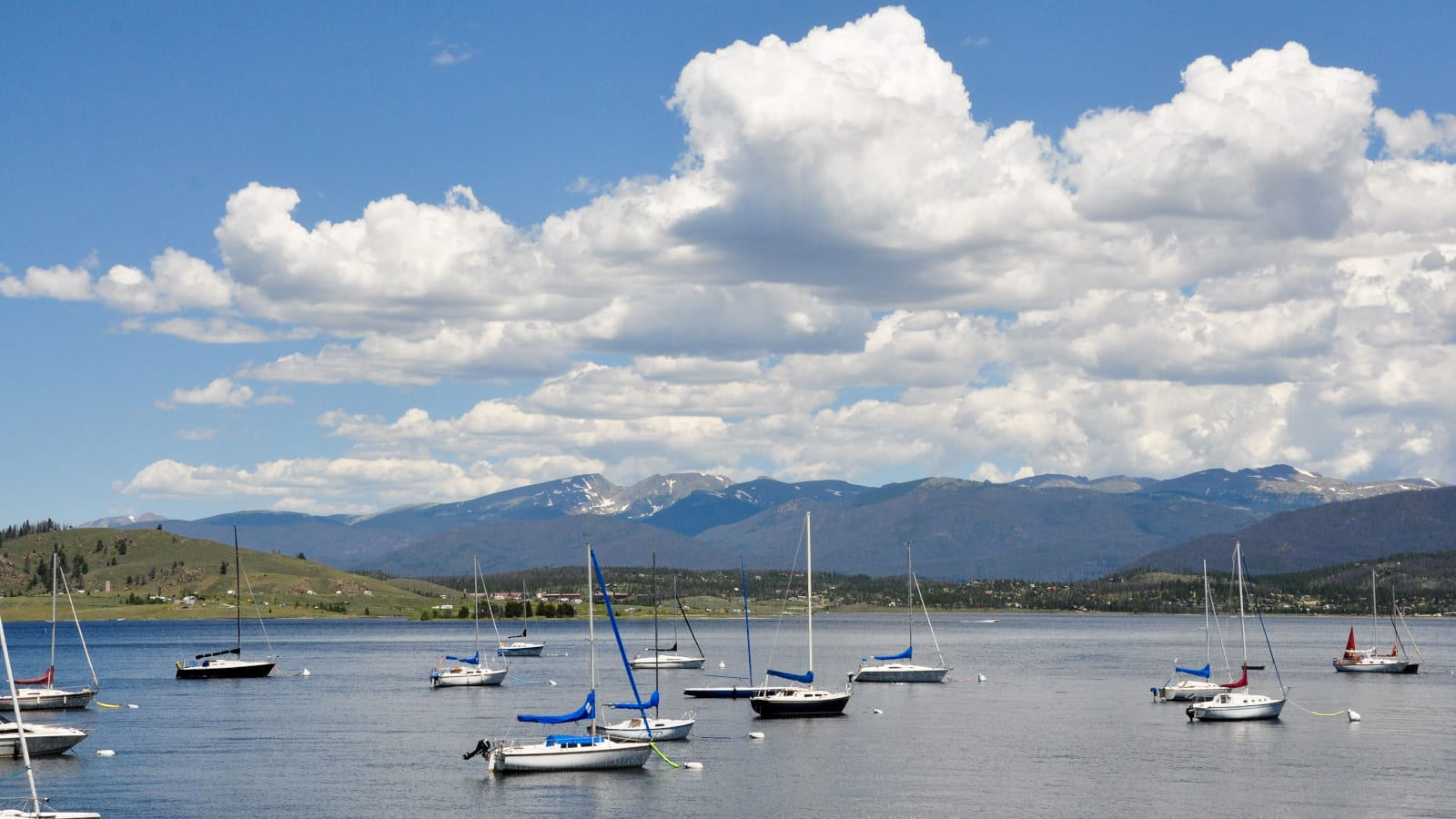 Lake Granby CO Sailboats