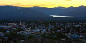 Leadville CO Sunset Turquoise Lake