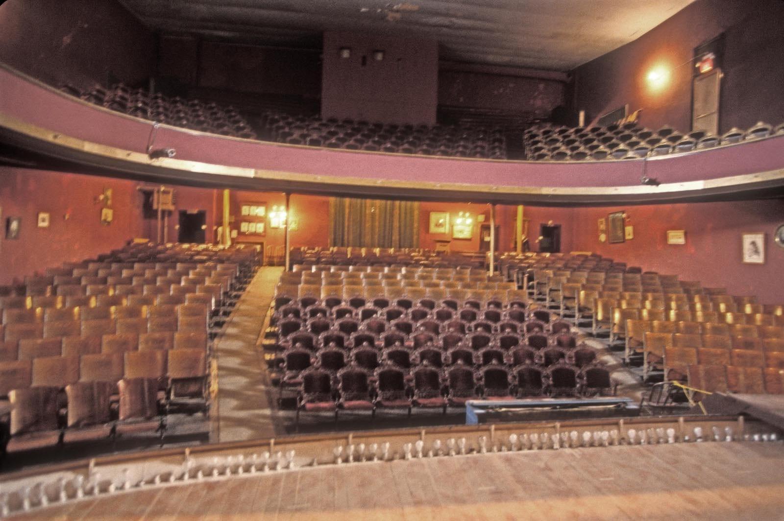 Leadville CO Tabor Opera House Interior