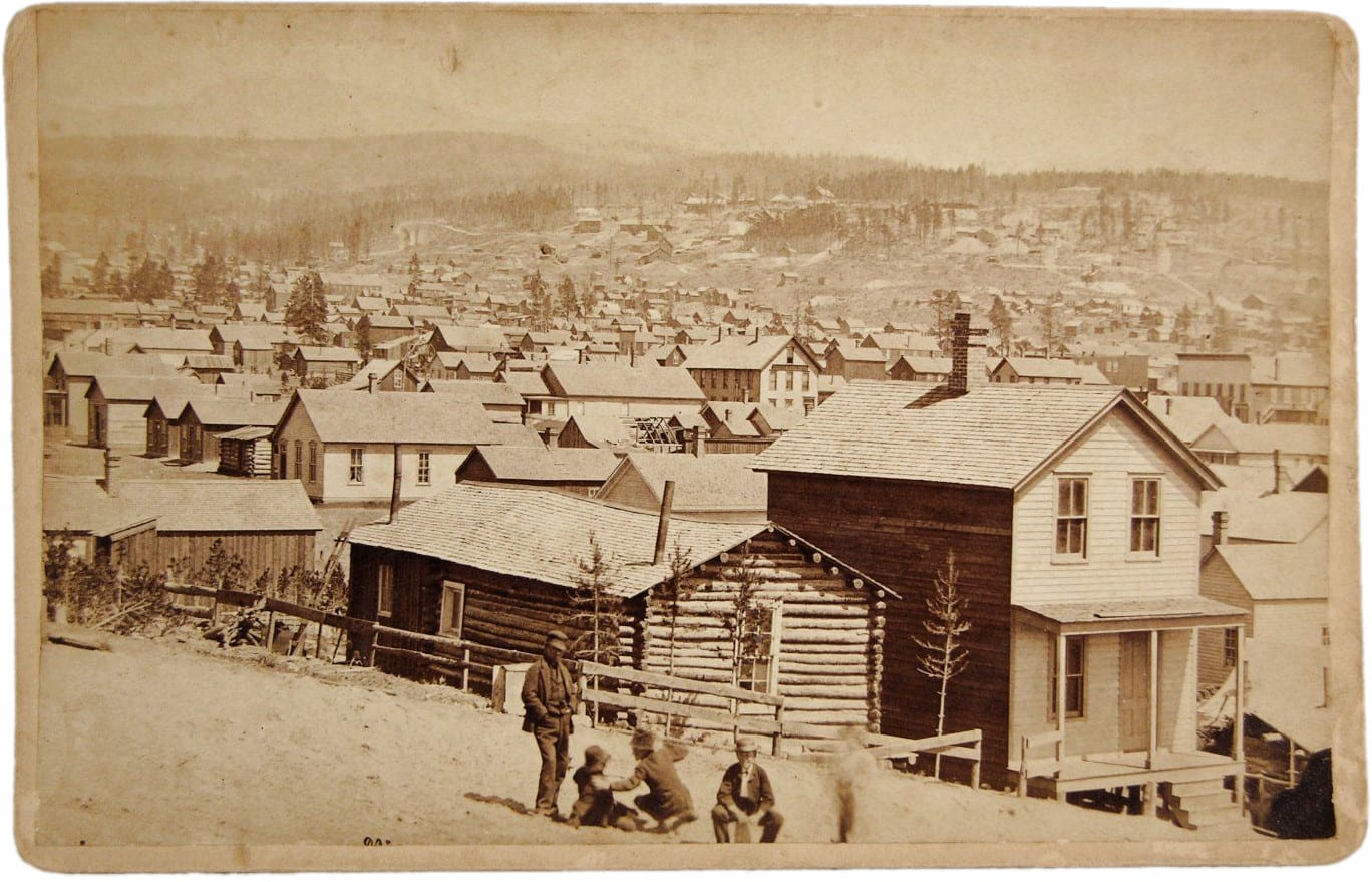 Leadville CO Silver Mining Boomtown Circa 1880