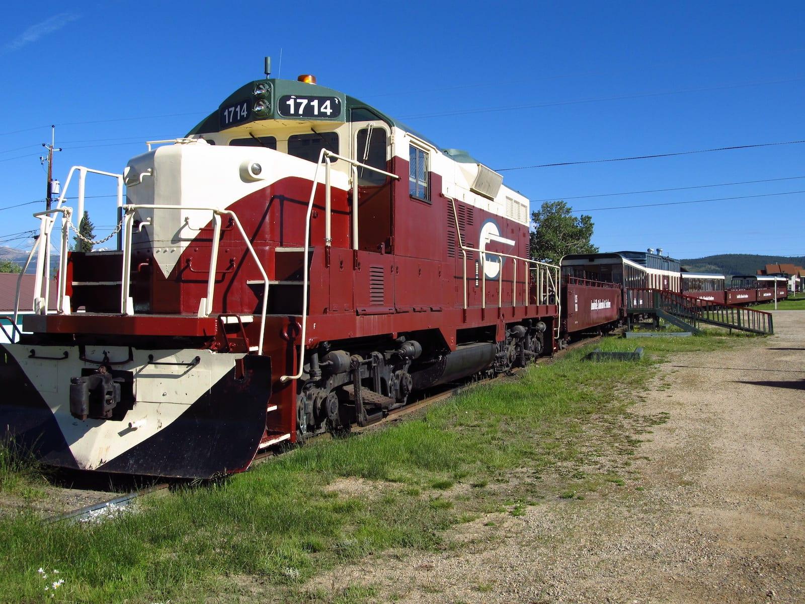 Leadville, Colorado & Southern Railroad Tourist Train