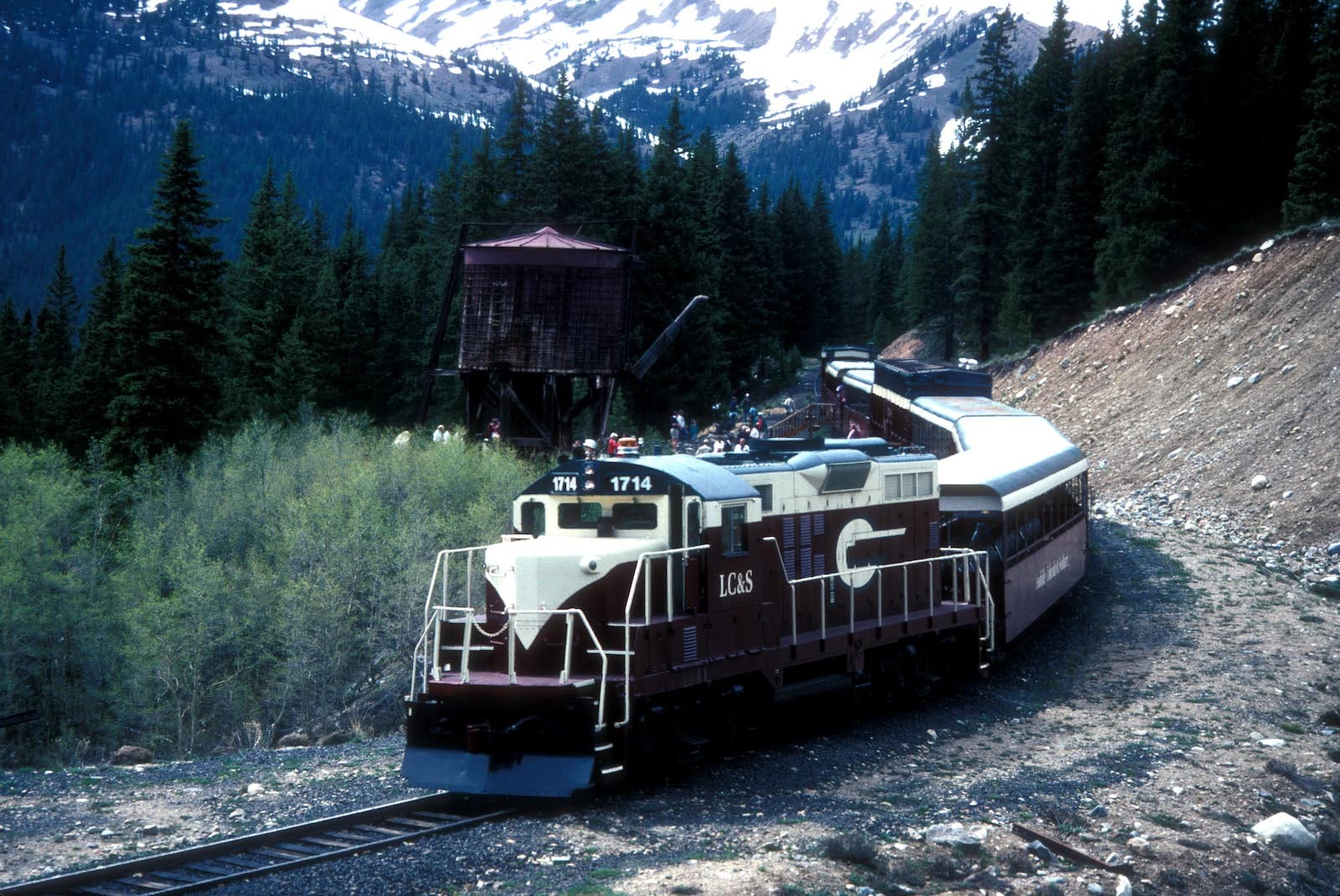 Leadville Colorado and Southern Railroad Train